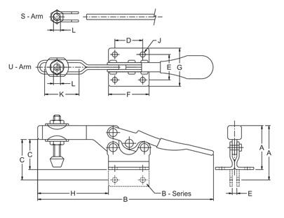 H-225-U drawing