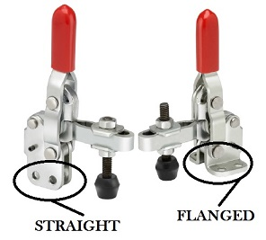 straight flanged base
